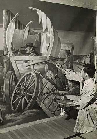 WPA Federal Art Project 19351943  MNopedia