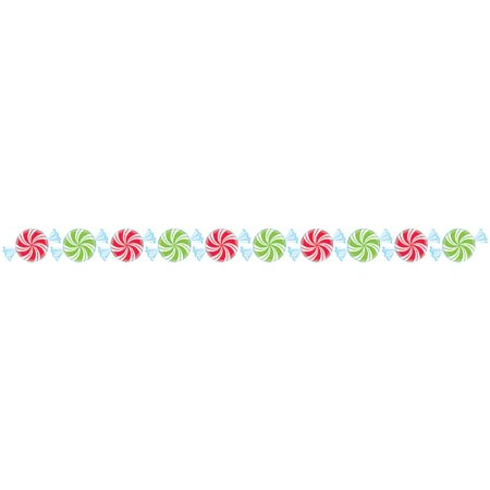 Peppermint Candies Border MampN Party Store