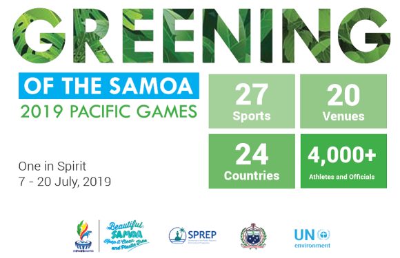 Greening of the Samoa 2019 Pacific Games
