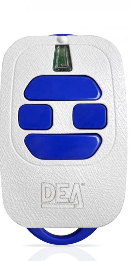 DEA HANDZENDER ROLLING CODE 4 KANAALS WIT 868Mhz GT4/868