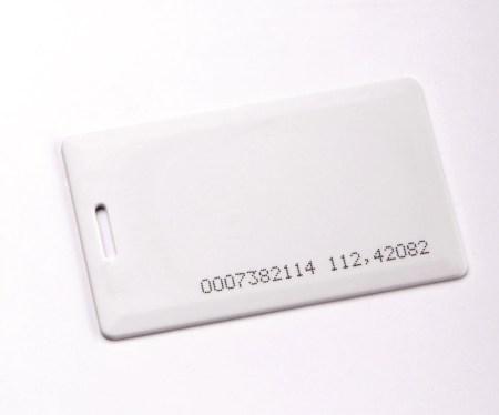 DEA PROXIMITY CARD VOOR CODE PANEEL
