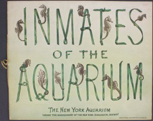 "The beautiful cover for ""Inmates of the Aquarium"" Image: © Wildlife Conservation Society"