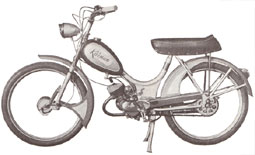 - Swedish moped 50cc Kärnan.