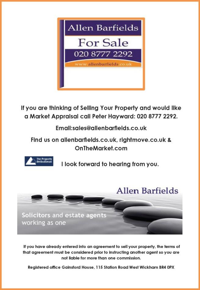 Allen Barfields Agency ad 2016