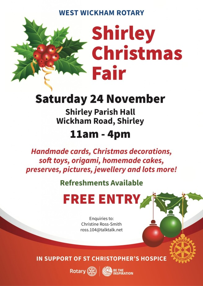 Shirley Christmas Fair 2018
