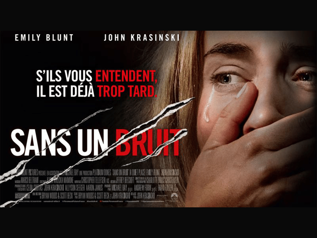 Bannière - Cinéma : le film Sans un bruit