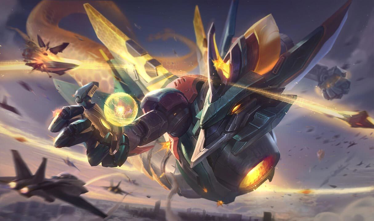 Mecha Aurelion Sol :: League of Legends (LoL) Champion Skin on ...