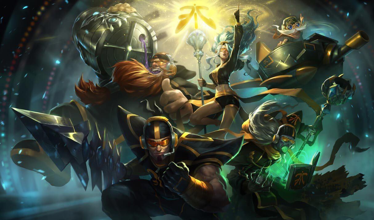Fnatic Corki :: League of Legends (LoL) Champion Skin on MOBAFire
