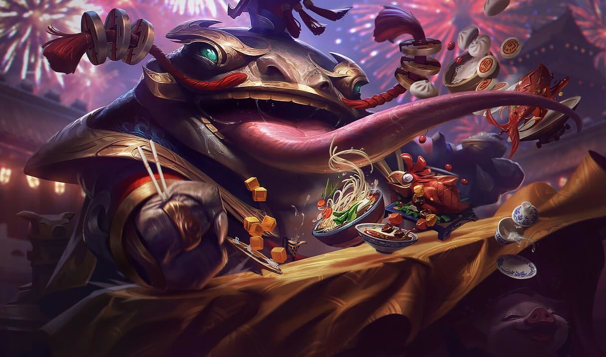 Coin Emperor Tahm Kench :: League of Legends (LoL) Champion Skin on MOBAFire