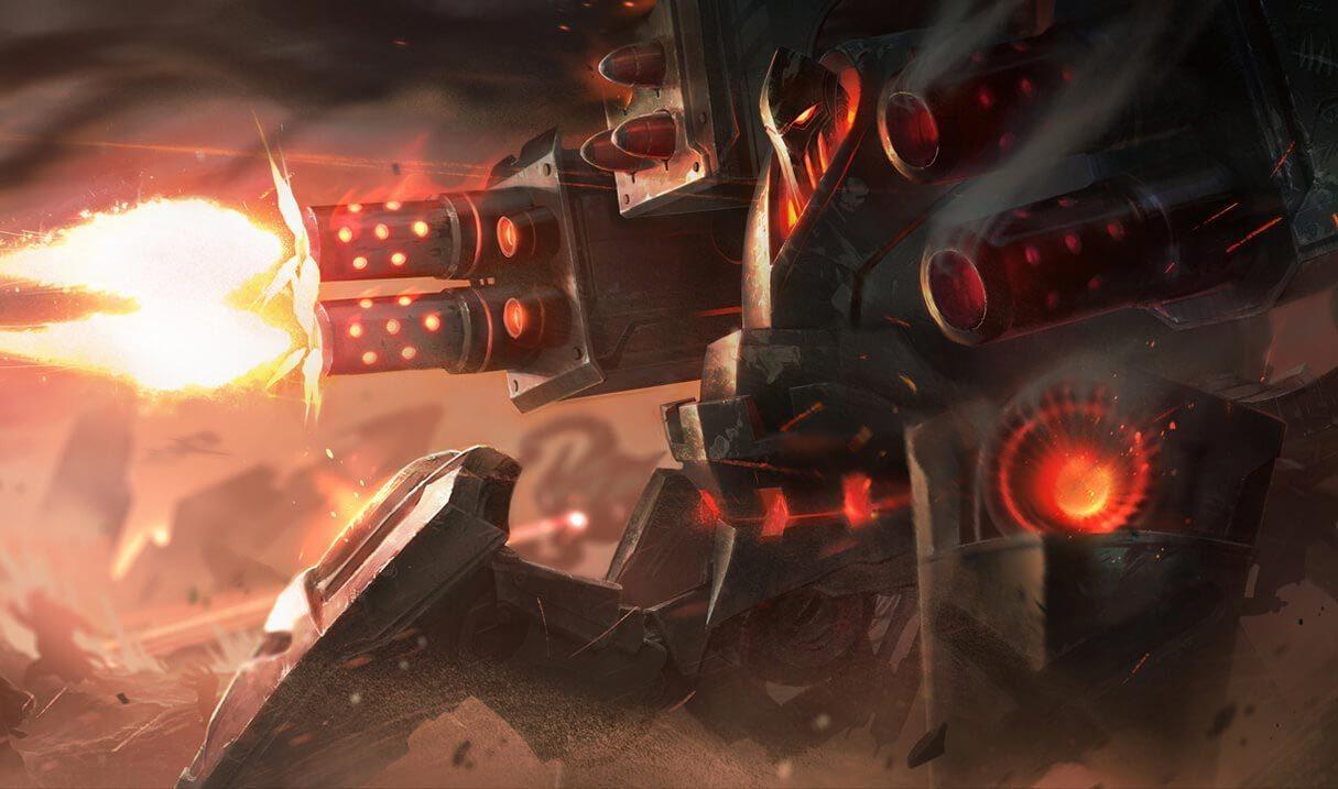 Battlecast Urgot :: League of Legends (LoL) Champion Skin on MOBAFire
