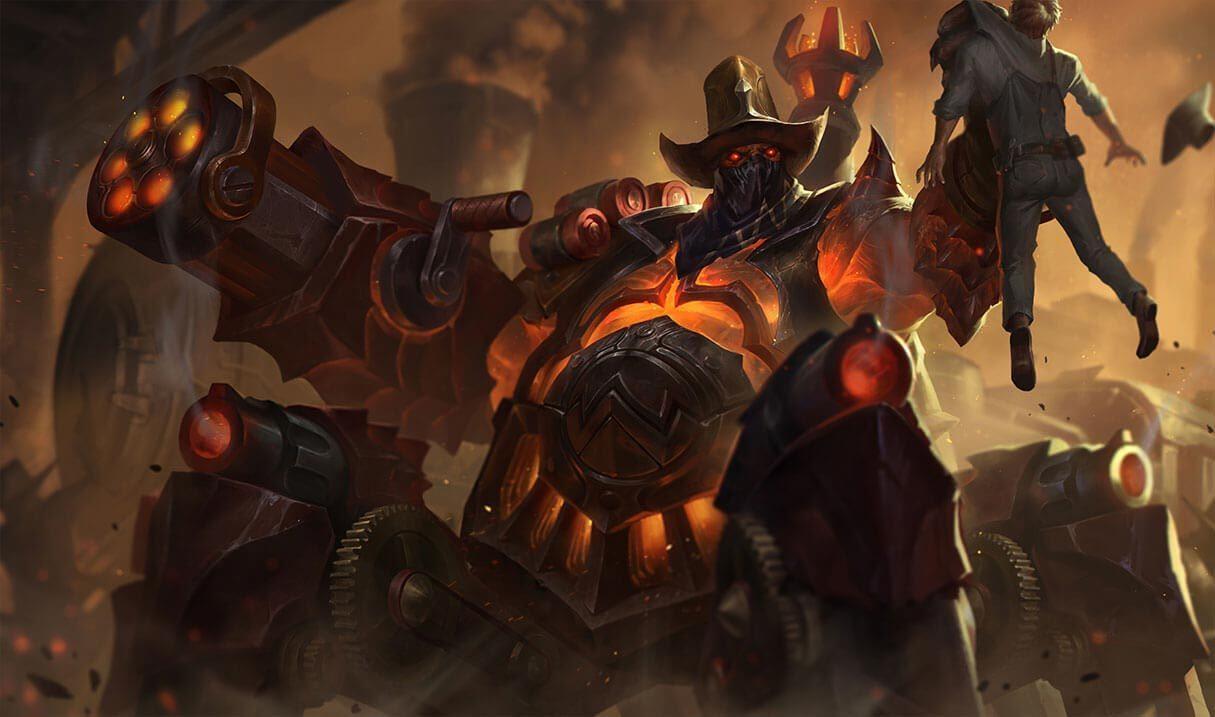 High Noon Urgot :: League of Legends (LoL) Champion Skin on MOBAFire