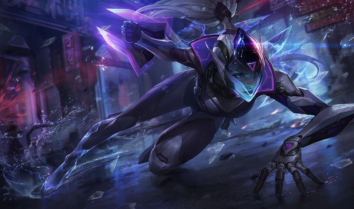 PROJECT: Vayne :: League of Legends (LoL) Champion Skin on MOBAFire