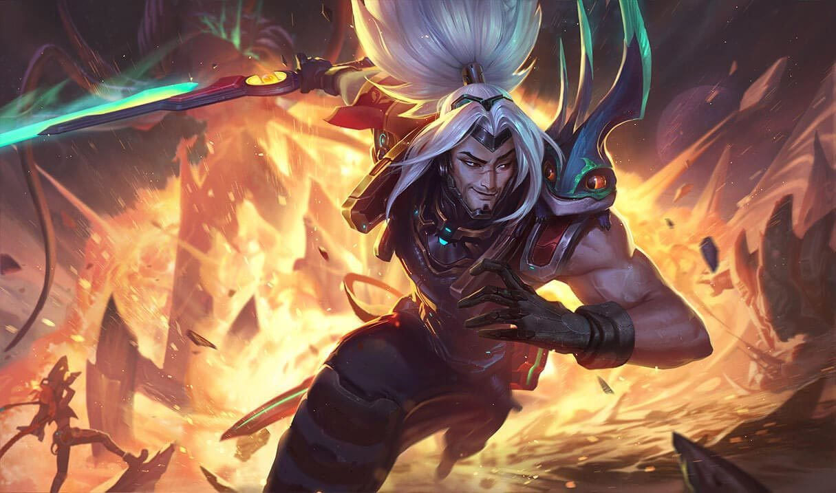 Odyssey Yasuo :: League of Legends (LoL) Champion Skin on MOBAFire