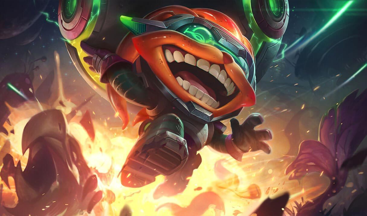 Odyssey Ziggs :: League of Legends (LoL) Champion Skin on MOBAFire