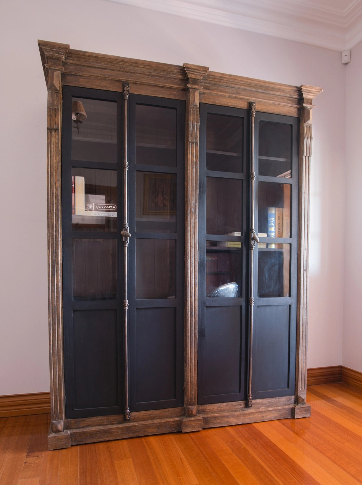 Toulouse Industrial Display Cabinet Furniture Brisbane