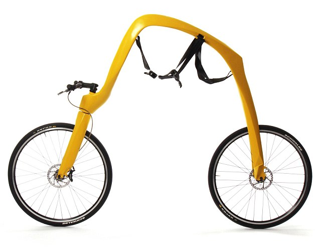 Bike that runs without pedal power