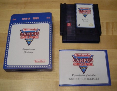Nintendo Campus Challange Cartridge