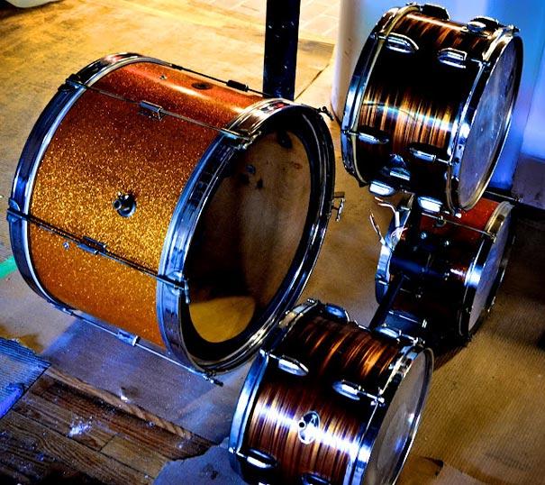 diy lampu drum set bekas 2