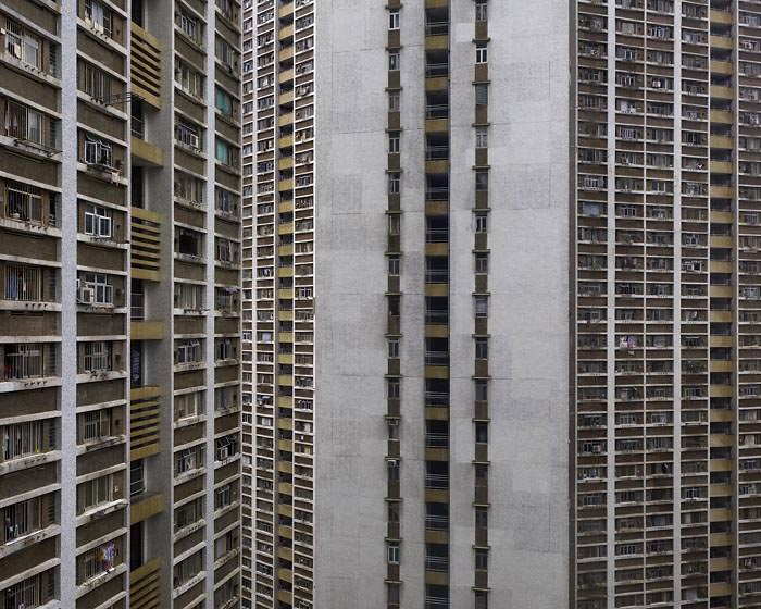 hong kong architecture of density 14