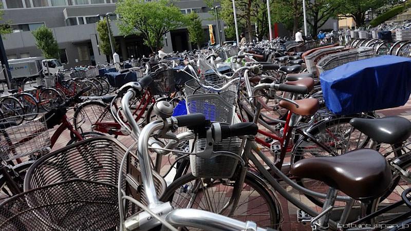 parkir sepeda bawah tanah jepang 4