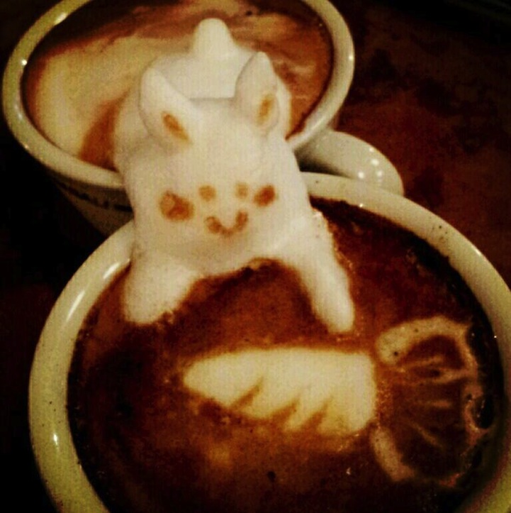 3d coffe latte art 6