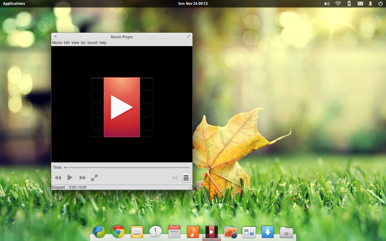 elementary os movie player