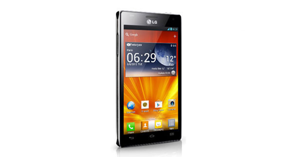 LG Optimus 4X HD side View