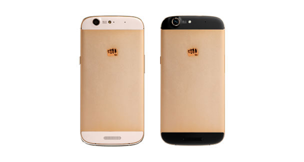 Micromax Canvas Gold A300 Colours