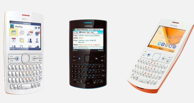 Nokia Asha 205 Front View