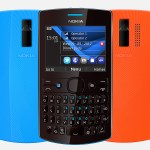 Nokia Asha 205 Front and Back View