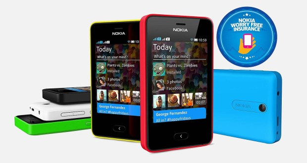 Nokia Asha 501 Overall View