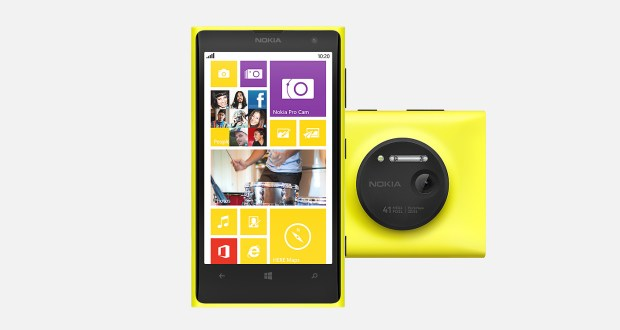 Nokia Lumia 1020 Front View