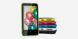 Nokia Lumia 620 Overall View