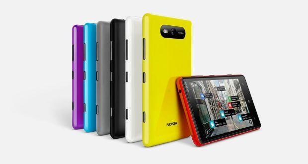Nokia Lumia 820 Overall View