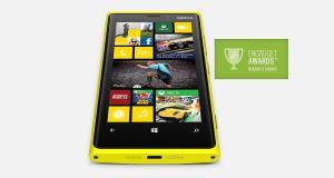 Nokia Lumia 920 Front View