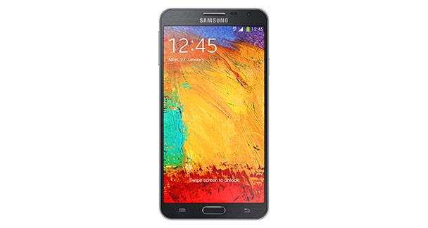 Samsung Galaxy Note 3 Neo Front View