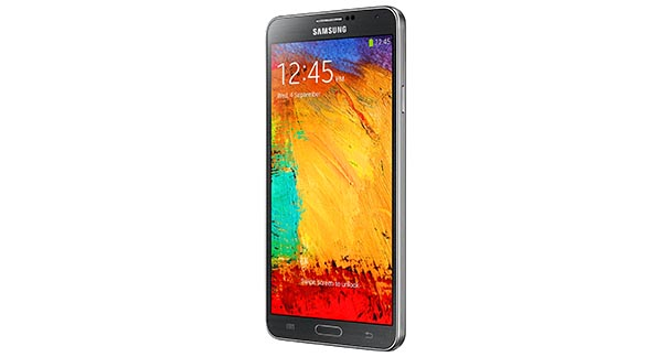 Samsung Galaxy Note 3 Side View