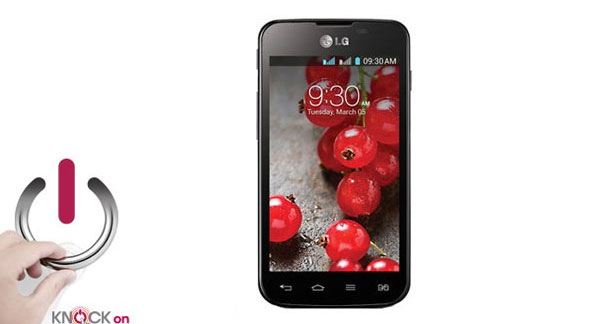LG Optimus L5II Dual E455 Front View