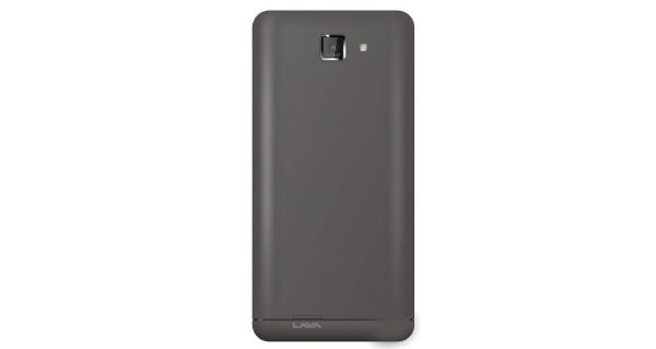 Lava Iris 400Q Back View