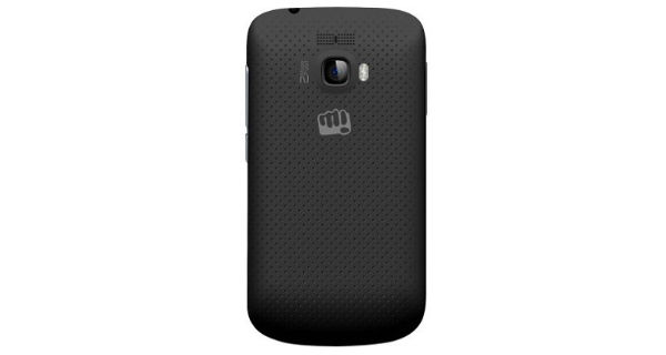 Micromax Bolt A064 Back View