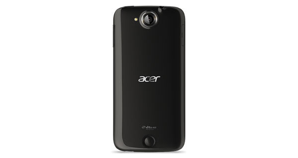 Acer Liquid Jade Back View