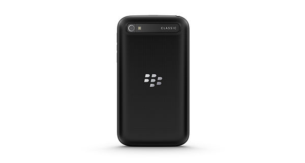BlackBerry Classic Back View