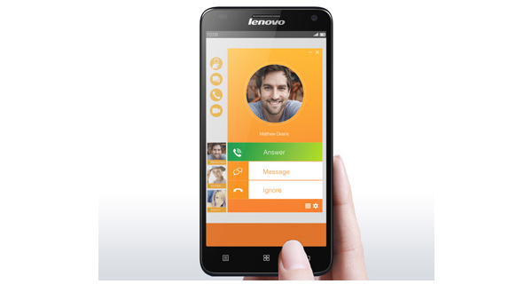 Lenovo S580 Front View