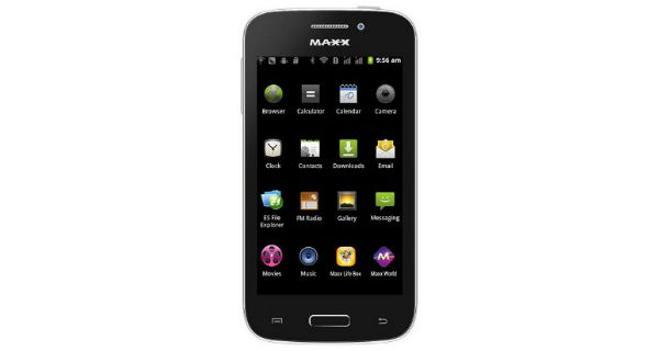 Maxx Genx Droid7 AX407 Overall View