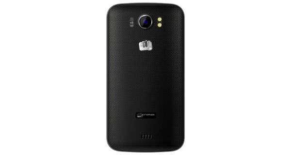 Micromax A110Q Canvas 2 Plus Back View