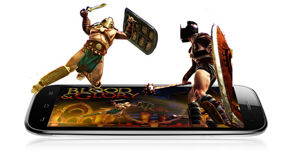 Micromax A115 Canvas 3D Side View