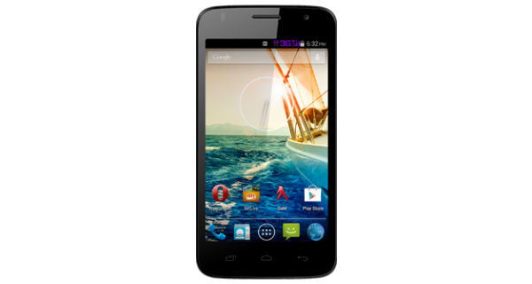 Micromax Canvas Entice A105 Front View