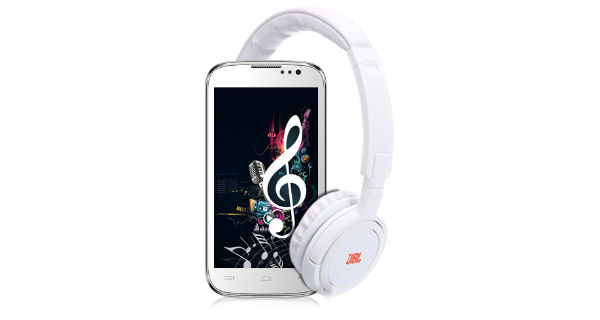 Micromax Canvas Music A88 Overall View