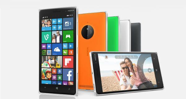 Nokia Lumia 830 Overall View