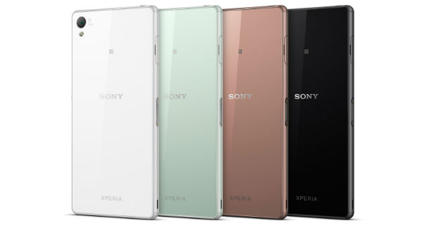 Sony Xperia Z3 Back View
